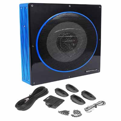 Slim Powered Car Subwoofer