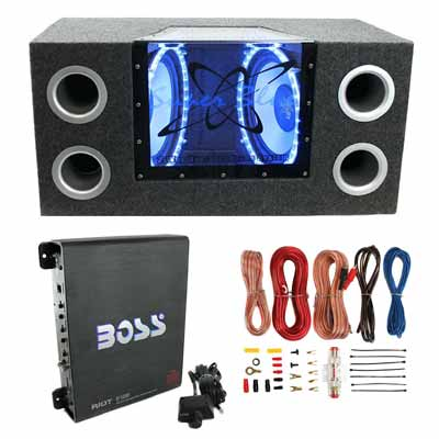 10 Inch Car Subwoofer Package
