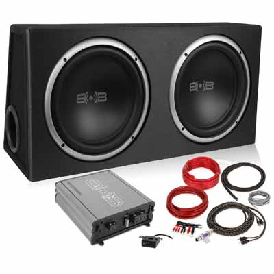 Two 12 Inch car subwoofer