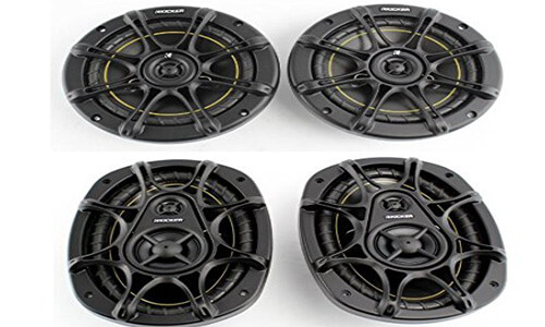 2) Kicker DS60 +2) Kicker DS693 – Package Speakers